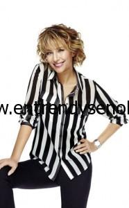siyah beyaz çizgili modası 2013 yaz
