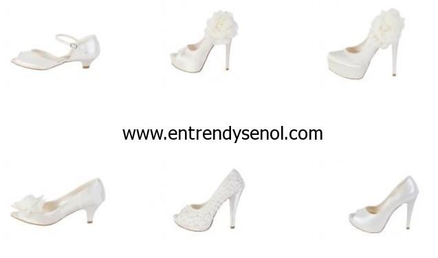 en trendy gelin ayakkabilari
