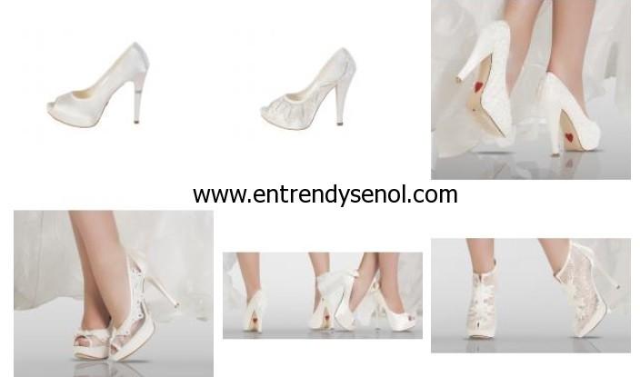 en yeni moda gelin ayakkabisi modelleri 2013