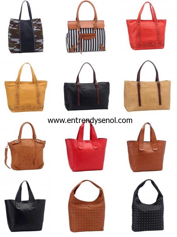 en yeni çıkan shopper çantalar 2013