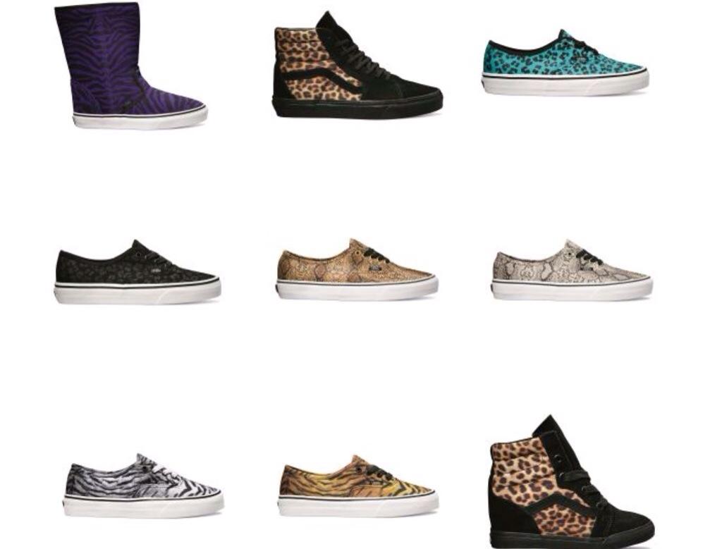 vans 2014 afrika safari ayakkabı koleksiyonu