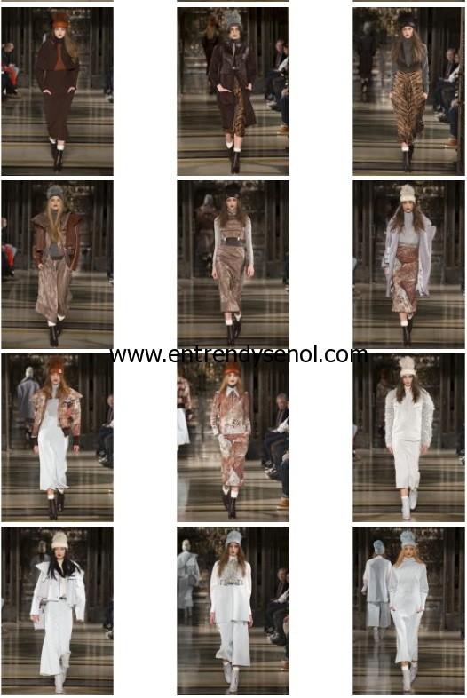 2014 Londra Moda Haftası Zeynep Tosun modelleri