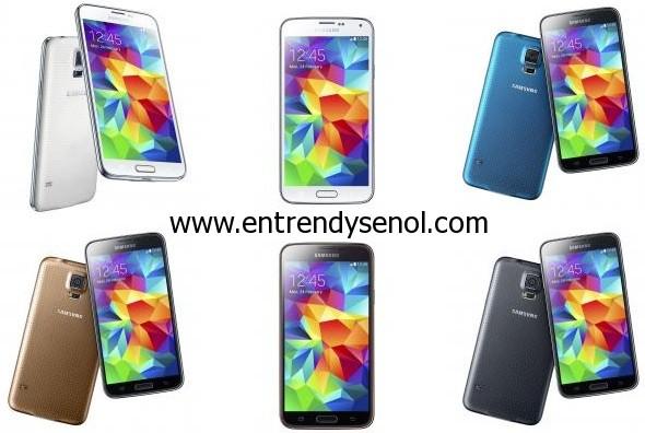 Galaxy S Serisinin beşinci nesli Galaxy S5