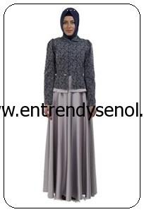 2014 armine giyim tesettür kıyafetleri 4Y6500 LACİVERT (1)