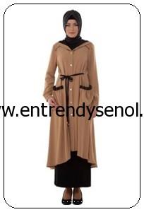 2014 armine giyim tesettür kıyafetleri 4Y7503 CAMEL (1)
