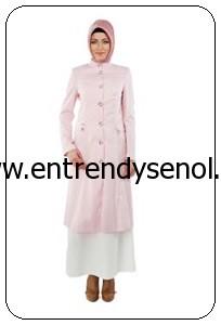2014 armine giyim tesettür kıyafetleri 4Y7538 PEMBE (1)