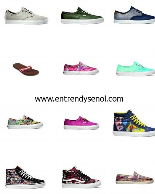 vans 2014 ilkbahar yaz kanvas ayakkabı modelleri.. vans yeni sezon kanvas ayakkabılar çeşit çeşit, desen desen.. vans kadın, erkek ve çocuklara özel bu yaz tam 13 koleksiyon hazırladı..