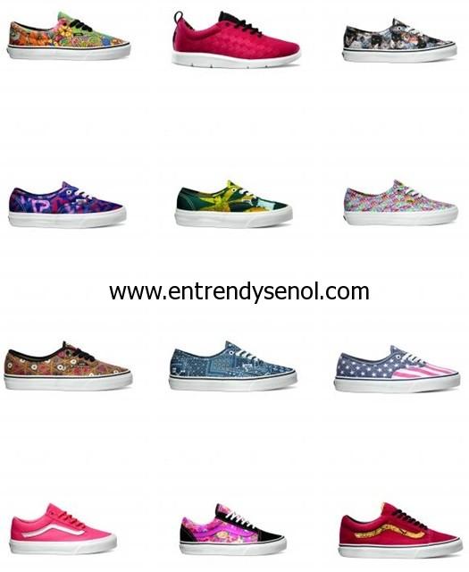vans 2014 kanvas ayakkabı modelleri