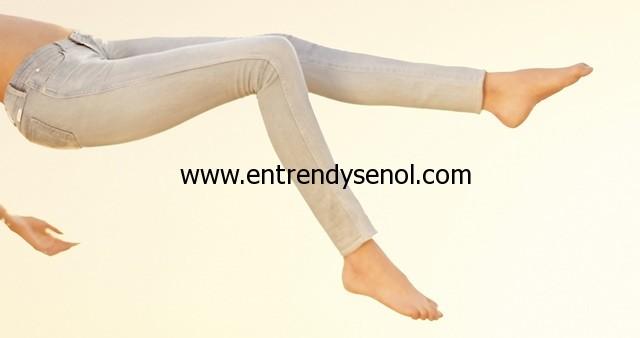 2014 spring summer Wrangler Denim Spa light skinny jeans pants