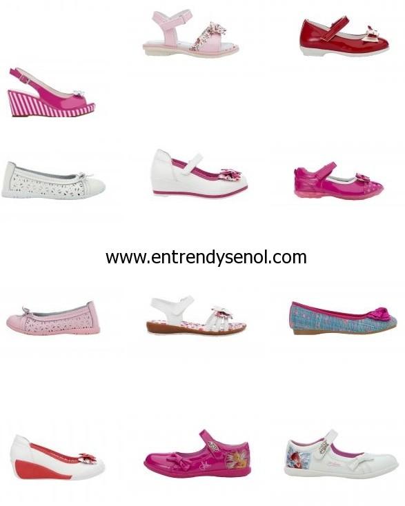 FLO 2014 İlkbahar Yaz Kız Çocuk Ayakkabı Sandalet Koleksiyonu