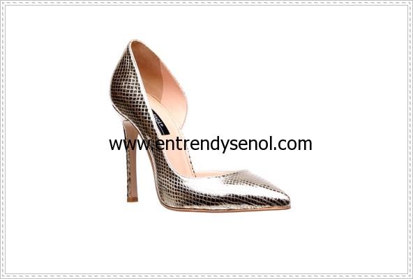 en trend altın rengi gold dore stilleto ayakkabı modelleri ve fiyatları 299.94 TL