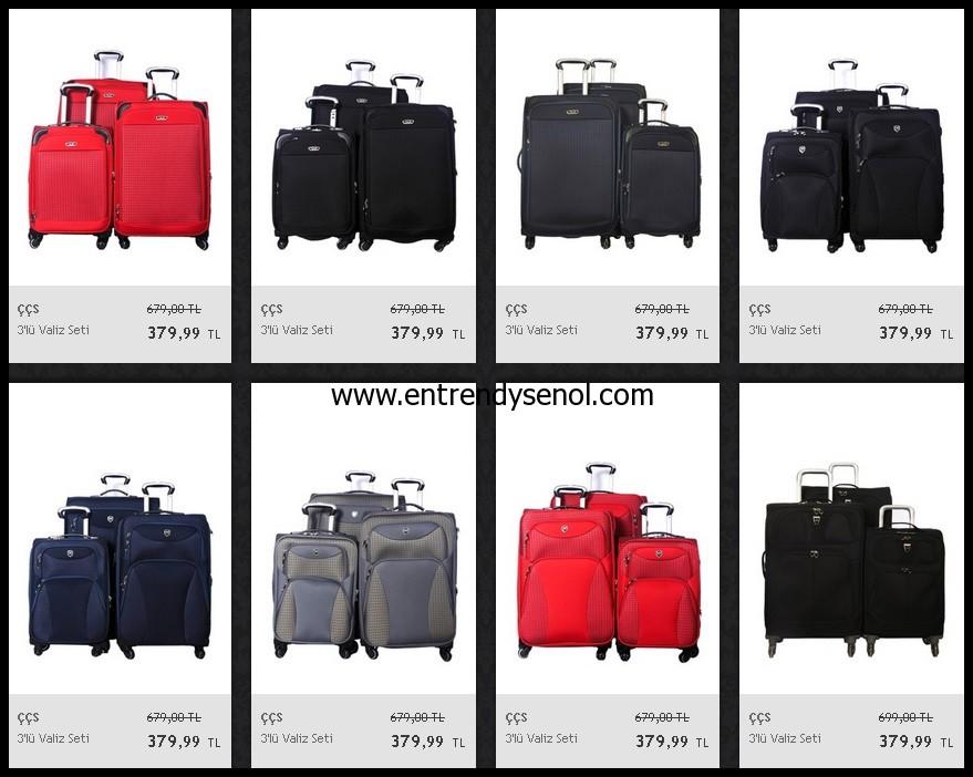 kaliteli ve ucuz valiz setleri fiyatı