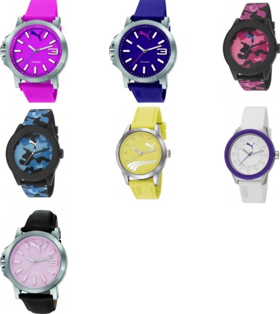 Yılın spor modası puma time 2014 kol saatleri