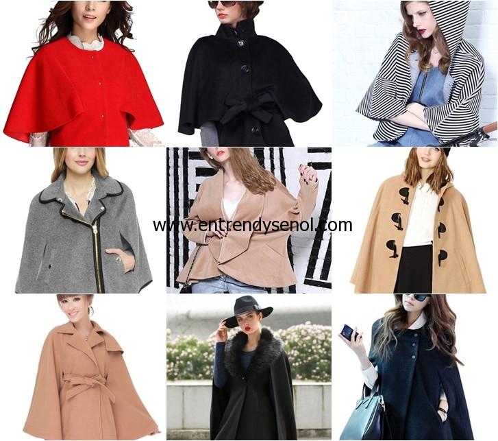 Cloak panço pelerin modelleri