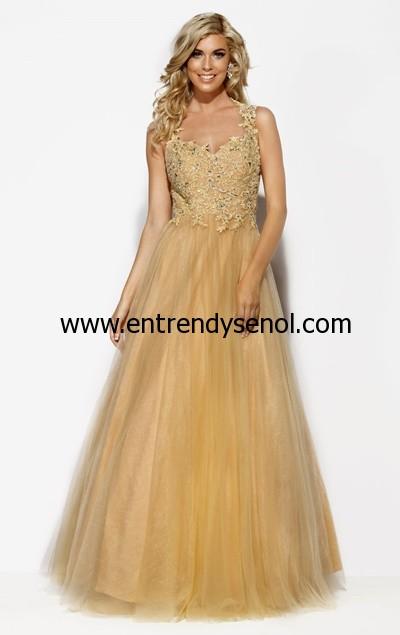Kabarık Prenses Mezuniyet Elbiseleri 2015 001