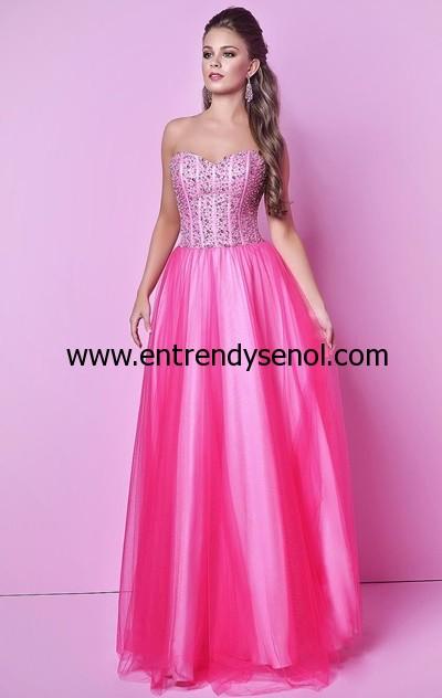 Kabarık Prenses Mezuniyet Elbiseleri 2015 012