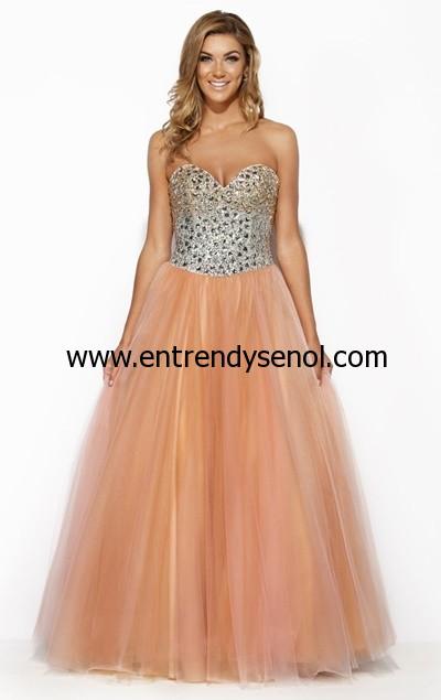 Kabarık Prenses Mezuniyet Elbiseleri 2015 026